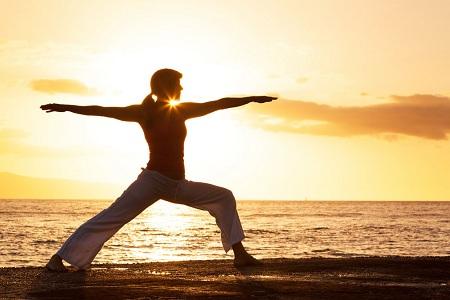 七种瑜伽养生运动让你瞬间瘦腿