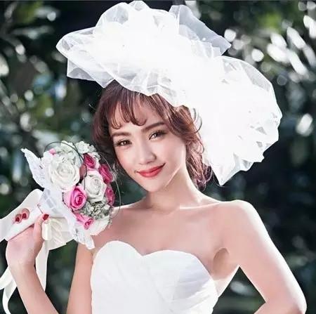 韩式空气刘海新娘发型打造教程