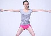 女性腰腹部减肥的保健养生操