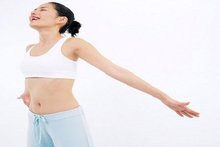 女性每天必做的美臂操让你更加完美 夏季出汗多要补钾