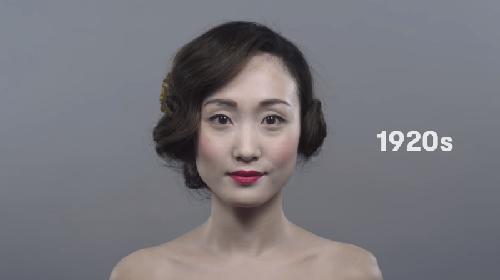 日剧女演员妆容图片