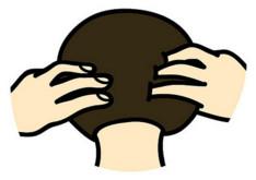 经常头痛眼睛酸怎么办? 改善血循3秒按摩法