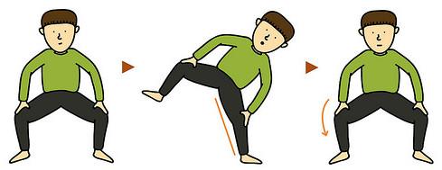 腿腰酸痛怎么办 相扑体操10功能