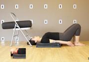瑜伽犁式的姿势图片讲解 舒缓更年