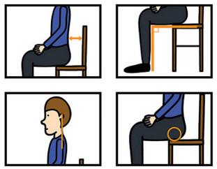 怎样的坐姿是正确的 3重点防腰酸