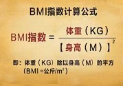 BMI指数怎么算?BMI指数标准表