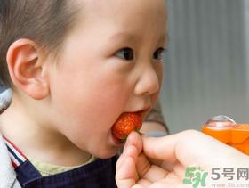多大孩子草莓能吃么
