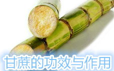 甘蔗的吃法有什么不同?吃法不同疗效不同