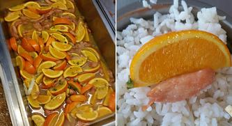 大学食堂橙子炒肉 高校食堂惊现橙子炒肉 橙子炒肉能吃吗?