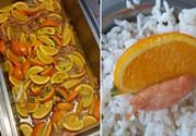 高校食堂又现神菜 橘子番茄油条,火龙果蛋汤等