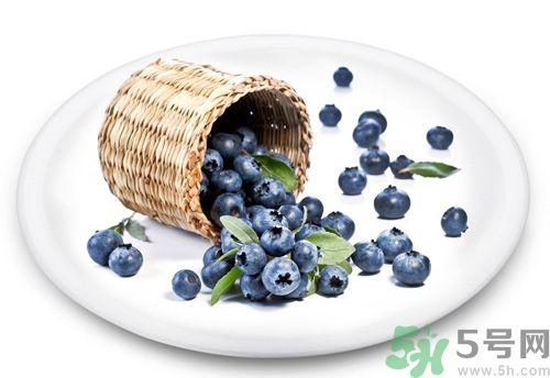 蓝莓不能和什么一起吃?蓝莓和什么相克