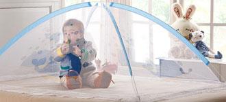 宝宝用什么颜色的蚊帐好?宝宝蚊帐的挑选方法