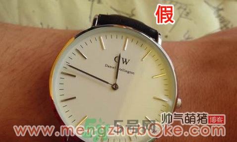 丹尼尔惠灵顿dw手表真假辨别图解