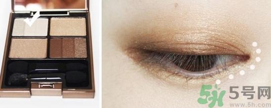 淡妆眼影画法步骤图解图片