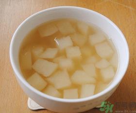 梨水可以去火吗?梨水怎么熬可以去火