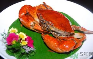 减肥吃螃蟹图片