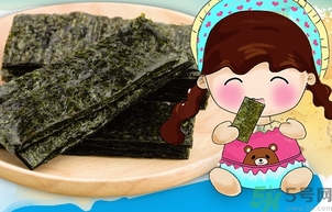 海苔吃多了会怎么样图片