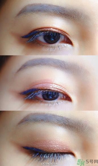 几种MAC人鱼姬眼影画法-小红唇