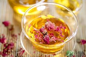 玫瑰花的营养价值及功效图片