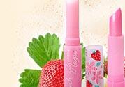 mistine草莓变色唇膏色号 mistine草莓变色唇膏试色