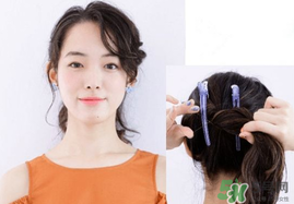 怎么绑头发简单又好看 绑头发的简单方法图片