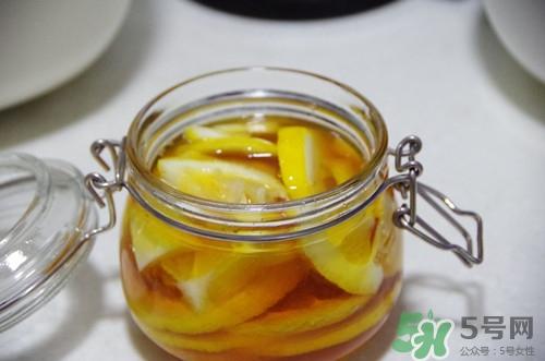 柠檬蜂蜜茶v柠檬减暴肚腩舒服不图片