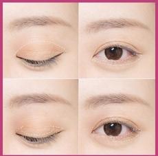 日常眼妆教程图片