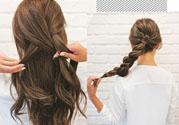 女生怎么扎头发好看_女生扎头发发