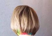 香菇头发型图片_香菇头女生发型图