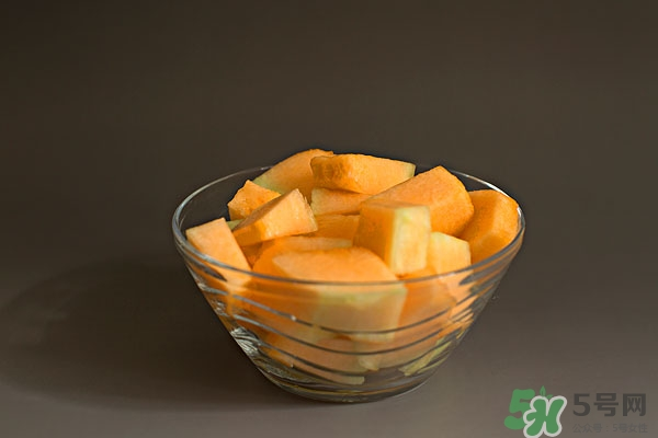 一个哈密瓜的热量图片