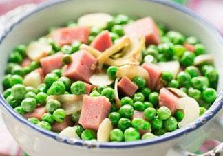 豌豆和火腿能一起吃吗?豌豆炒火腿肠的做法