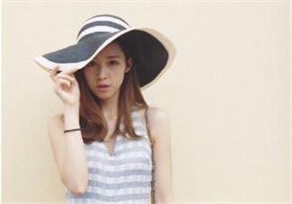 草帽什么样的好看 时尚草帽图片大全