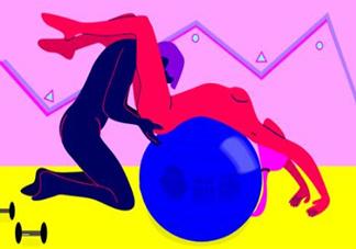 创意性爱:借助健身器材性交更销魂