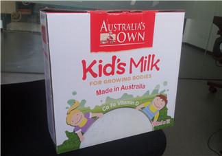 澳牧Australia's Own儿童牛奶好不好?澳牧牛奶怎么样?