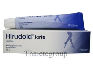 Hirudoid forte使用说明 Hirudoid forte说明书