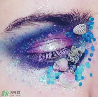 创意彩妆眼妆图片欣赏图片