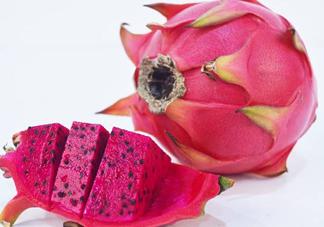 红心火龙果是染色的吗?红心火龙果糖分高吗