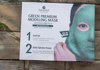 香蒲丽绿色水光面膜怎么样?香蒲丽绿色面膜好用吗