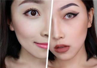日韩妆容和欧美妆容哪个好看_画法步骤图解
