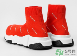 ette独占版balenciaga巴黎世家红色袜子鞋多少钱图片
