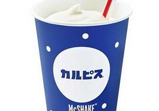 麦当劳calpis合作奶昔多少钱?麦当劳McSHAKE奶昔价格