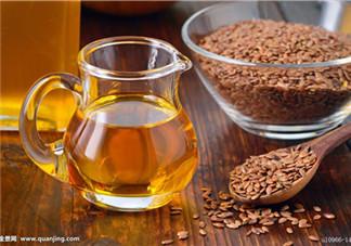 亚麻籽油的作用 亚麻籽油的功效