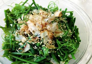 龙须菜的食用功效 龙须菜的食用禁忌