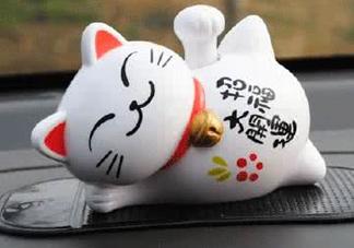 不同颜色的招财猫代表什么意思?招财猫的寓意是什么