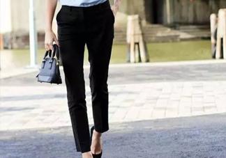 烟管裤怎么搭配?烟管裤搭配什么鞋子