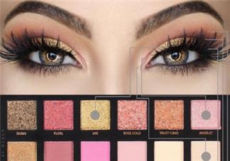 欧美眼妆画法 欧美眼妆教程图解