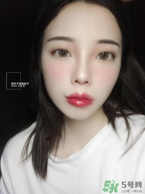 唇妆怎么画视频图片