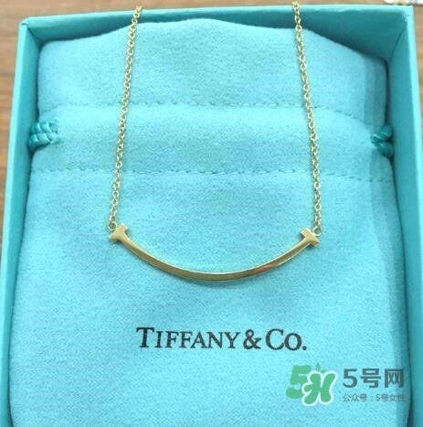 tiffany蒂芙尼微笑项链多少钱 专柜价格
