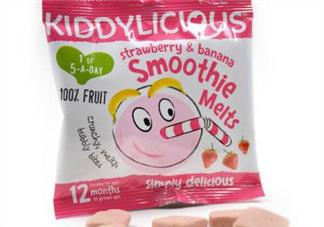 童之味溶豆怎么样? kiddylicious溶豆好吗?