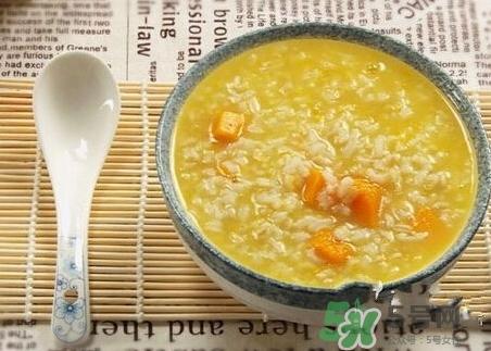 南瓜粥的营养价值_南瓜粥的功效与作用及饮食禁忌